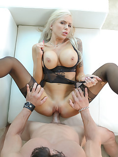 Pictures of Nina Elle by hot hardcore action with messy cum load